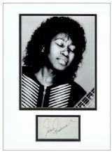 Joan Armatrading Autograph Signed Display